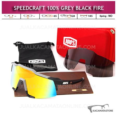 Jual Kacamata Sepeda Speedcraft Grey Black Fire