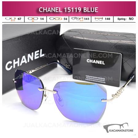 Model Kacamata Artis Chanel 15119 Blue