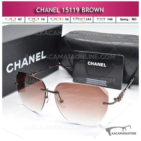 Harga Kacamata Artis Chanel 15119 Brown