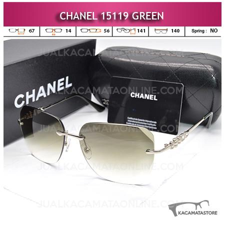 Jual Kacamata Artis Chanel 15119 Green