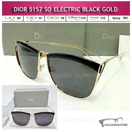 Kacamata Dior So Electric Black Gold