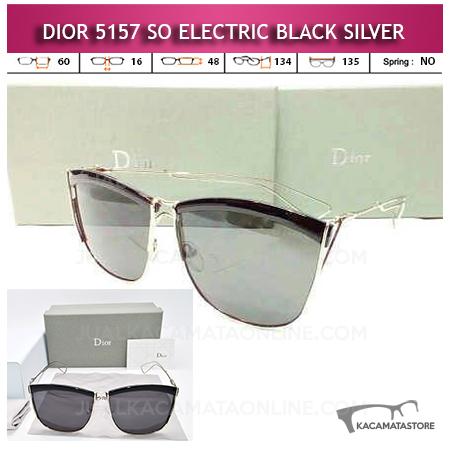 Toko Kacamata Dior So Electric Black Silver
