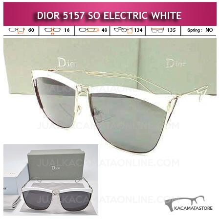 Harga Kacamata Dior So Electric White