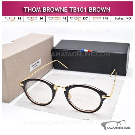Jual Kacamata Minus Thom Browne TB101 Brown