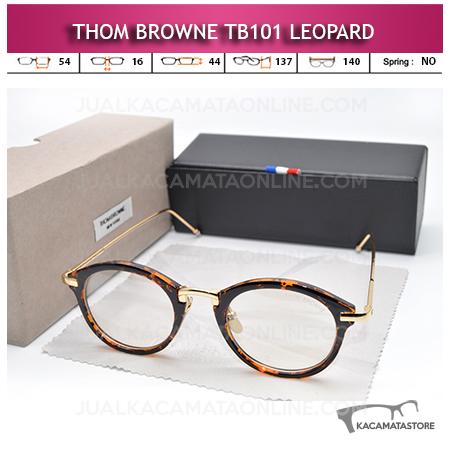 Jual Kacamata Minus Thom Browne TB101 Leopard
