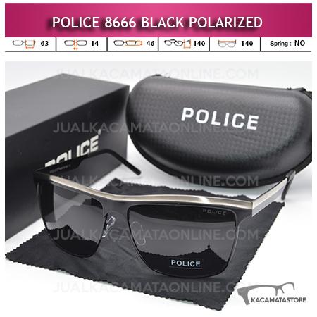 Harga Kacamata Polarized Police 8666 Black