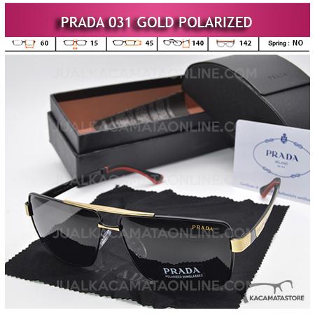 Harga Kacamata Polarized Prada 031 Gold