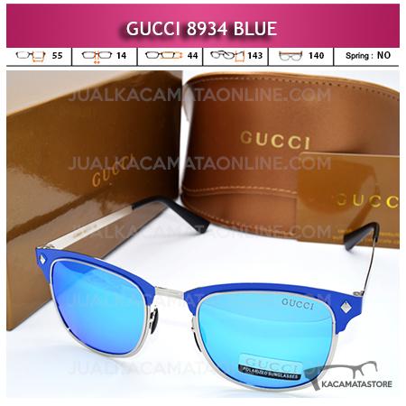 Jual Kacamata Terbaru Gucci 8934 Blue