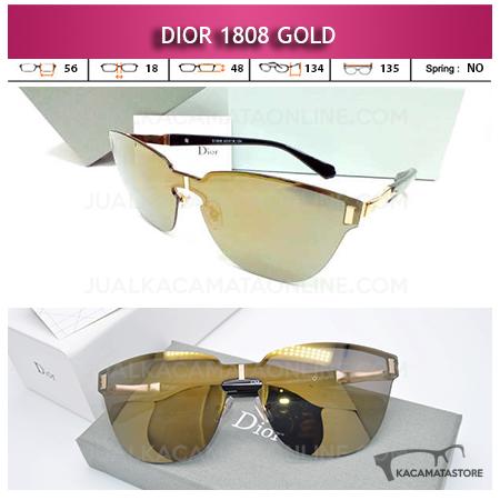 Harga Kacamata Wanita Terbaru Dior 1808 Gold