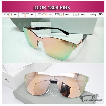 Jual Kacamata Wanita Terbaru Dior 1808 Pink