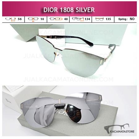 Jual Kacamata Wanita Terbaru Dior 1808 silver