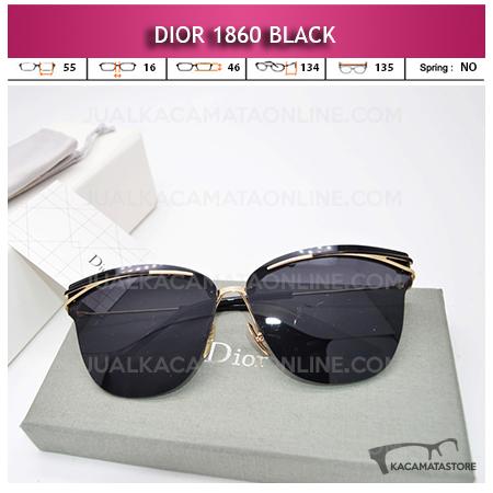 Harga Kacamata Wanita Terbaru Dior 1860 Black