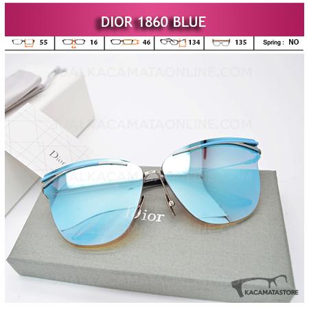 Model Kacamata Wanita Terbaru Dior 1860 Blue
