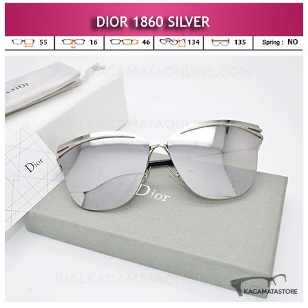 Jual Kacamata Wanita Terbaru Dior 1860 Silver