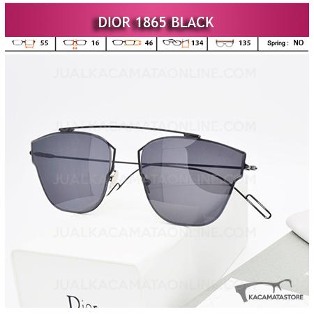 Harga Kacamata Wanita Terbaru Dior 1865 Black