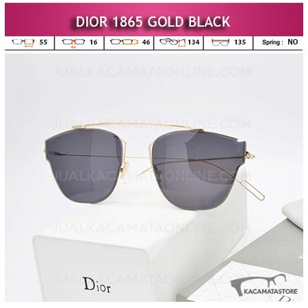 Toko Kacamata Wanita Terbaru Dior 1865 Gold Black