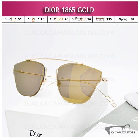 Model Kacamata Wanita Terbaru Dior 1865 Gold