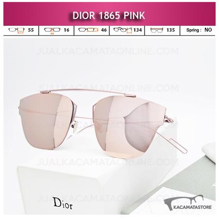 Kacamata Wanita Terbaru Dior 1865 Pink