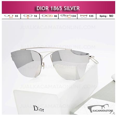 Jual Kacamata Wanita Terbaru Dior 1865 Silver
