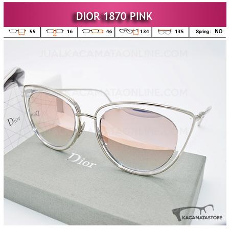 Jual Kacamata Wanita Terbaru Dior 1870 Pink