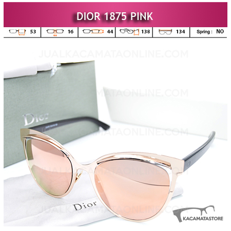 Model Kacamata Wanita Terbaru Dior 1875 Pink