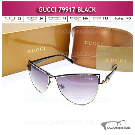 Grosir Kacamata Wanita Terbaru Gucci 79917 Black