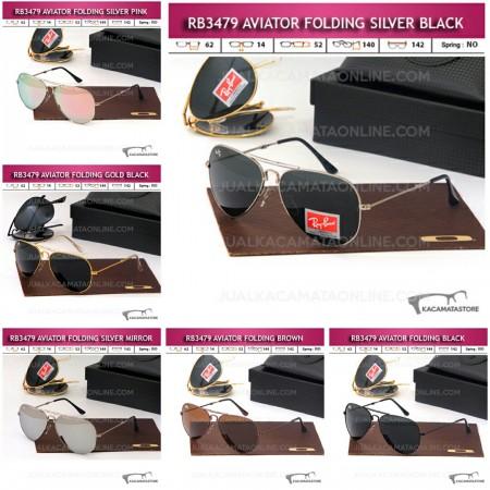 Model Kacamata Rayban Aviator Folding Terbaru