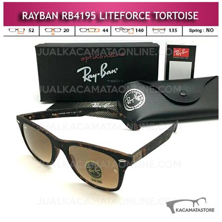 Jual Kacamata Rayban Wayfarer Liteforce Tortoise