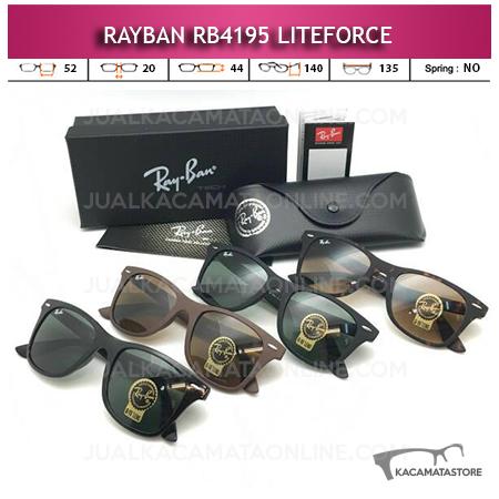 Model Kacamata Rayban Wayfarer Liteforce Rb4185 Terbaru