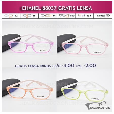 Jual Frame Kacamata Chanel 88037 Gratis Lensa