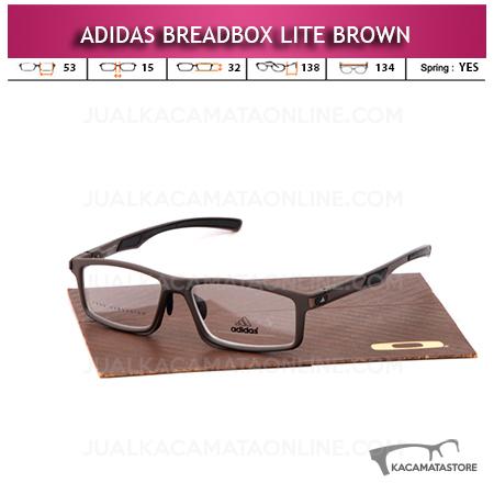 Jual Frame Kacamata Minus Adidas Breadbox Lite Brown