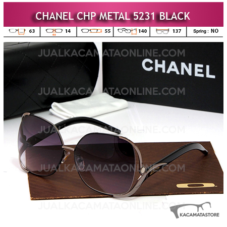 Model Kacamata Artis Chanel 5231 Black