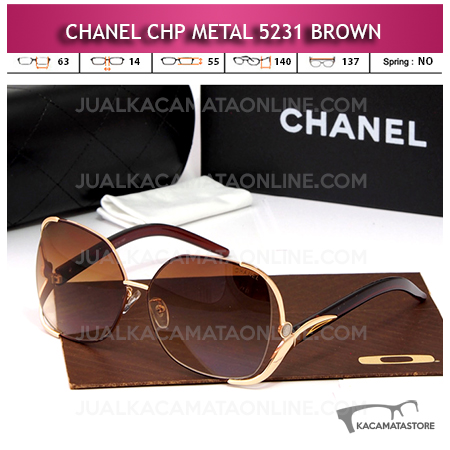Jual Kacamata Artis Chanel 5231 Brown