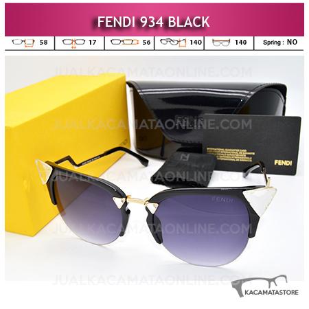 harga Kacamata Fendi 934 Black
