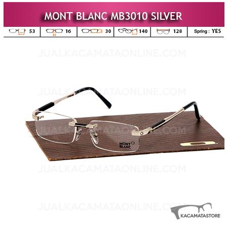 Jual Kacamata Frameless Montblanc MB310 Silver