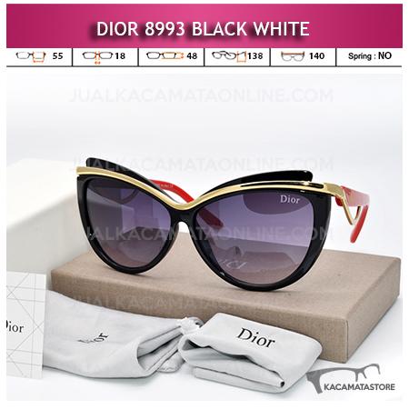 Jual Kacamata Artis Dior 8993 Black White