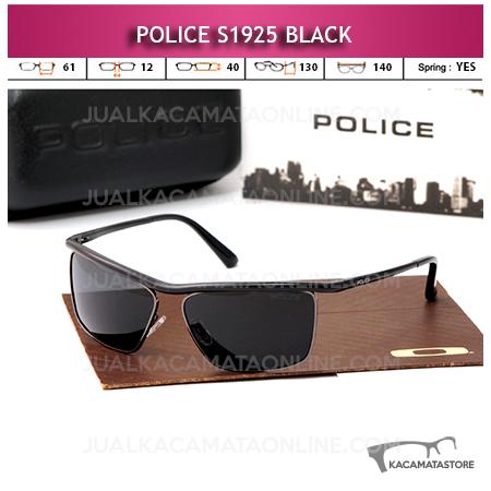 Jual Kacamata Police Terbaru S1925 Polarized Black