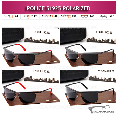 Model Kacamata Police Terbaru S1925 Polarized