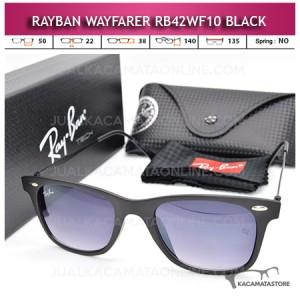 Jual Kacamata Rayban Wayfarer Terbaru Rb42WF10 Black