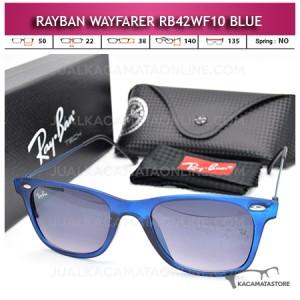 Jual Kacamata Rayban Wayfarer Terbaru Rb42WF10 Blue