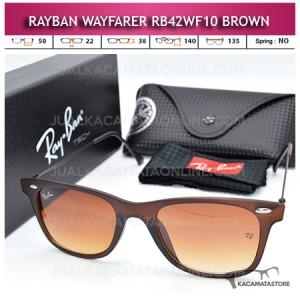 Jual Kacamata Rayban Wayfarer Terbaru Rb42WF10 Brown