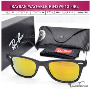 Jual Kacamata Rayban Wayfarer Terbaru Rb42WF10 Fire