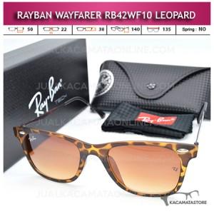 Jual Kacamata Rayban Wayfarer Terbaru Rb42WF10 Leopard