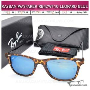 Kacamata Rayban Wayfarer Terbaru Rb42WF10 Leopard Blue