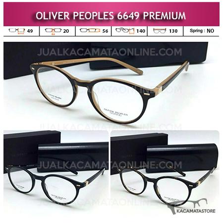 Jual Frame Kacamata Oliver Peoples 6649 Premium