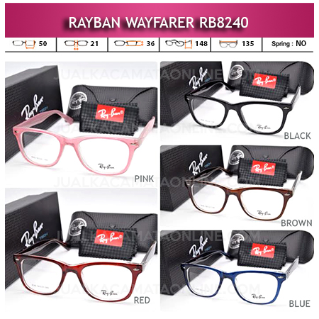 Jual Frame Kacamata Rayban Rb8240 Terbaru