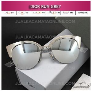 Grosir Kacamata Artis Terbaru Dior Run Grey