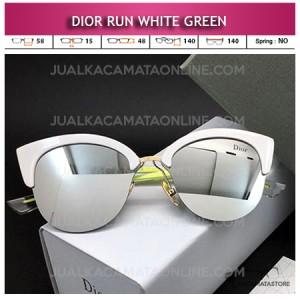 Jual Kacamata Artis Terbaru Dior White Green