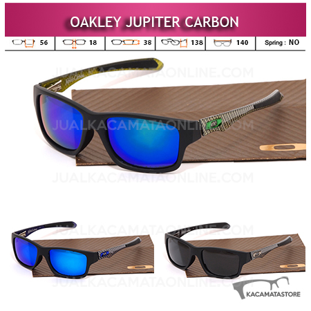 Jual Kacamata Gaya Oakley Jupiter Carbon Polarized