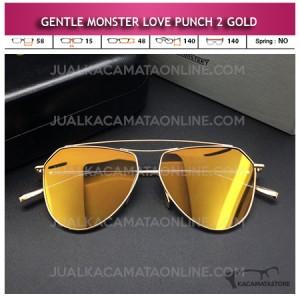 Kacamata Gentle Monster Love Punch 2 Gold